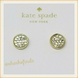 KATE SPADE DAINTY SPARKLERS STUD EARRINGS